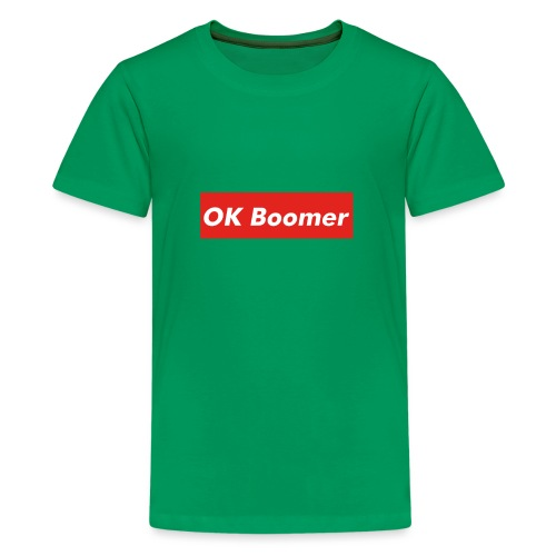 OK Boomer Meme - Teenage Premium T-Shirt