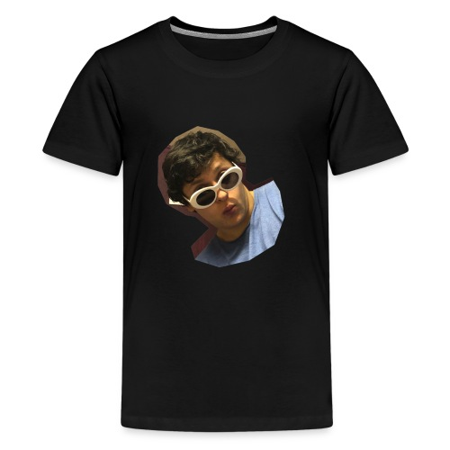 Handsome Person on Clothing - Teenager Premium T-Shirt