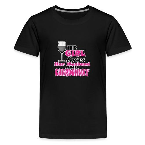 CHARDONNAY - T-shirt Premium Ado