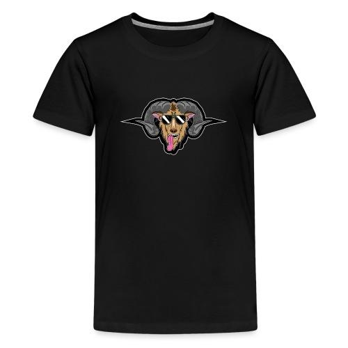 HüttenRocker Widder - Teenager Premium T-Shirt