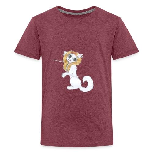 Comic Katze - Teenager Premium T-Shirt