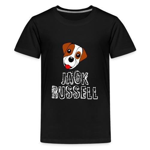 Jack Russell, der perfekte Terrier - Teenager Premium T-Shirt