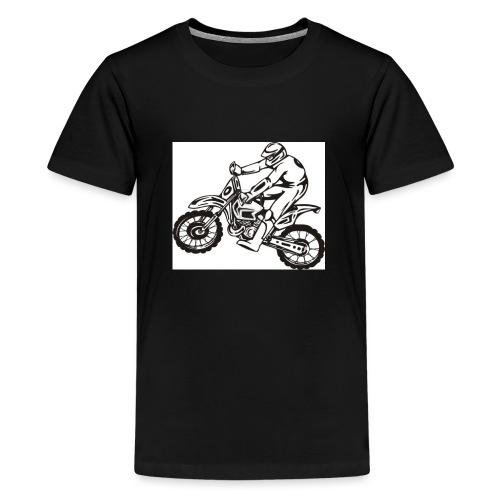 83e5a45aeba59315308fb1e8500fd1de - Premium-T-shirt tonåring