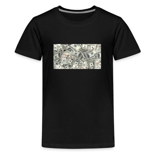 dollar - Premium-T-shirt tonåring