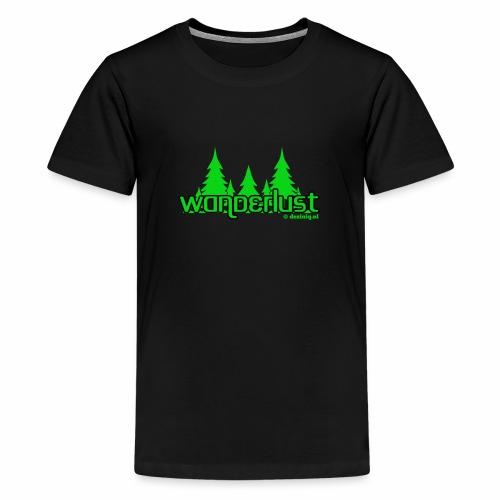Wanderlust - Teenager Premium T-shirt