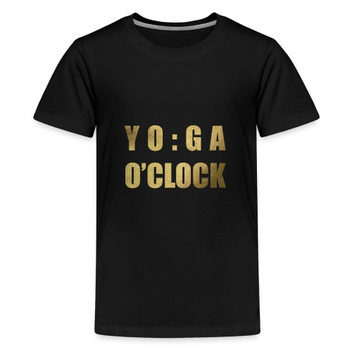YOGA o'clock - Teenager Premium T-shirt