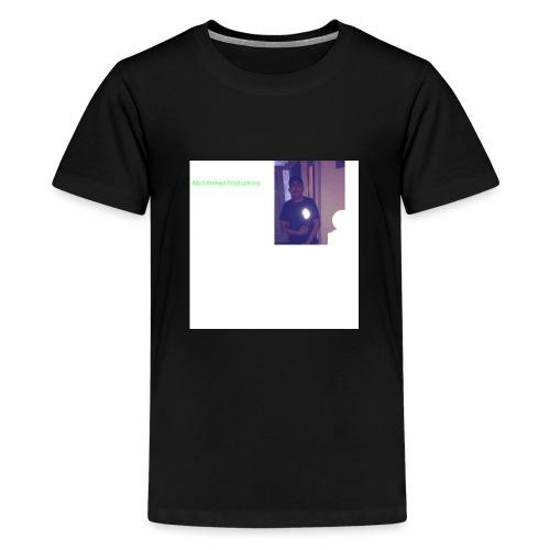 Abid Ahmed productions2 - Teenage Premium T-Shirt