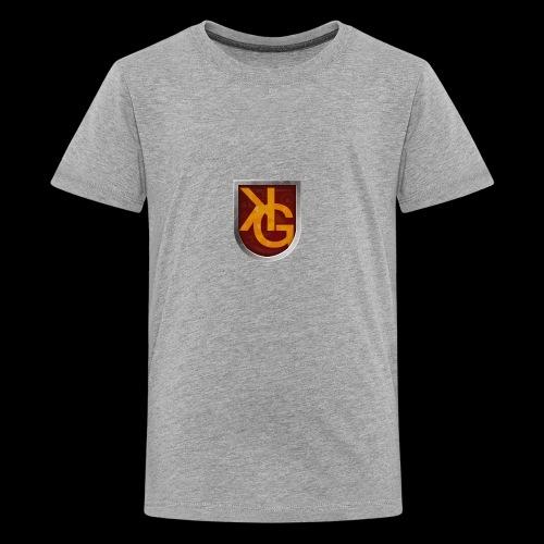 KG logo - Teinien premium t-paita