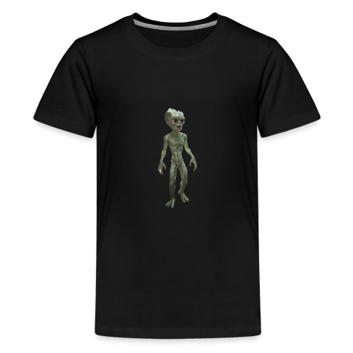 alien real - Camiseta premium adolescente