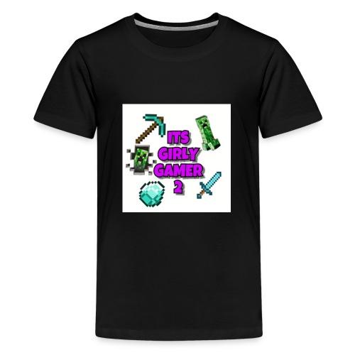 ItsGG2 Logo - Premium T-skjorte for tenåringer