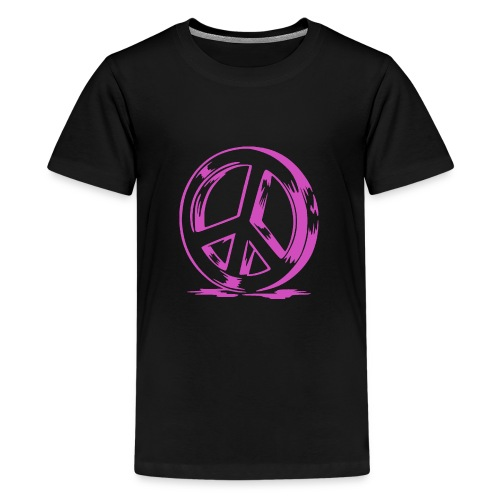 Peace and Love - T-shirt Premium Ado