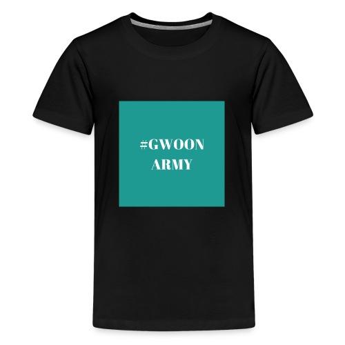 #GwoonArmy - Teenager Premium T-shirt