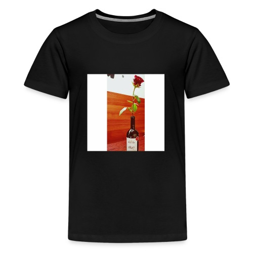 purcari rose - Teenage Premium T-Shirt