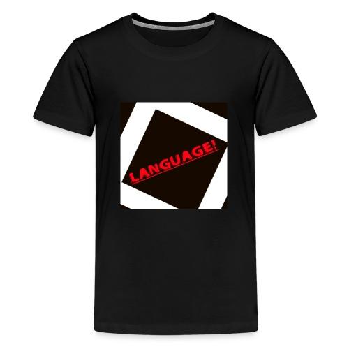 Language - Teenage Premium T-Shirt