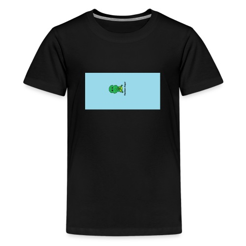 Men's T-Shirt with Turtle Design - Teenage Premium T-Shirt