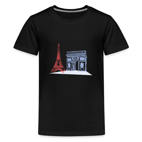 Paris - T-shirt Premium Ado
