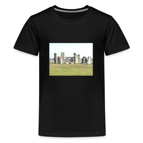 white rocks - Teenage Premium T-Shirt