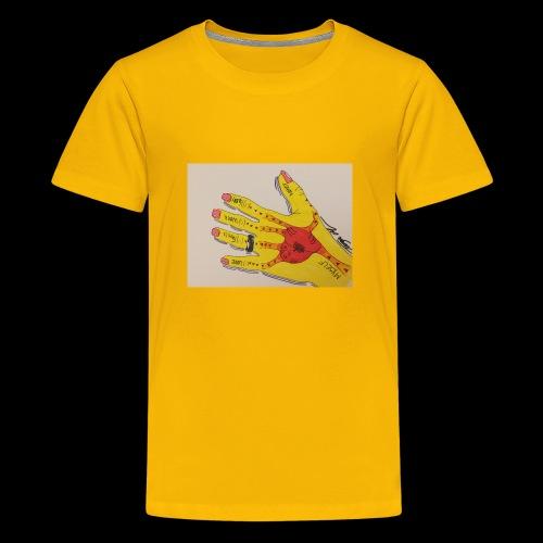 9D8D600F D04D 4BA7 B0EE 60442C72919B - Teenager premium T-shirt