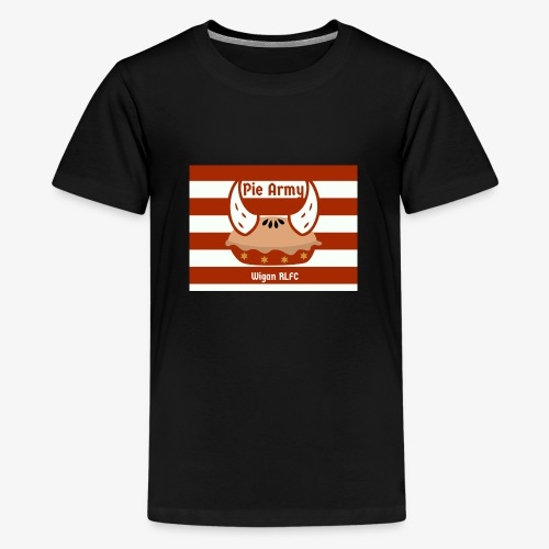 Pie Army - Teenage Premium T-Shirt