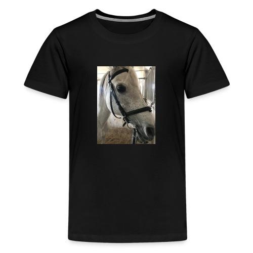 9AF36D46 95C1 4E6C 8DAC 5943A5A0879D - Premium T-skjorte for tenåringer