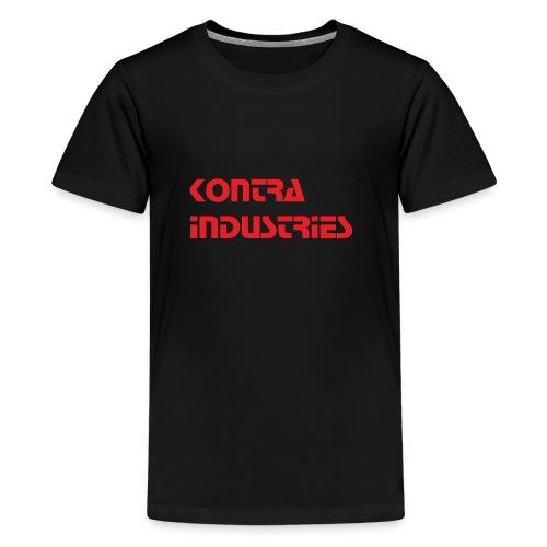 Kontra Industries Red GROß - Teenager Premium T-Shirt