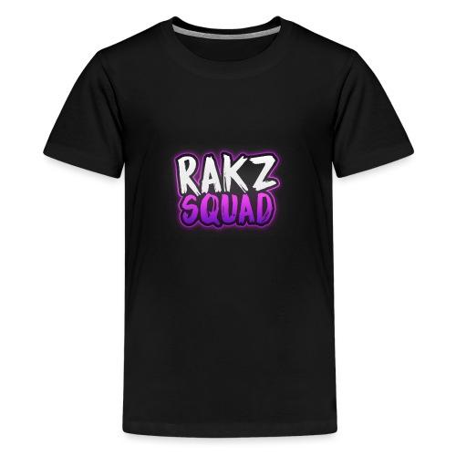 RakzSquad First Merch - Teenage Premium T-Shirt