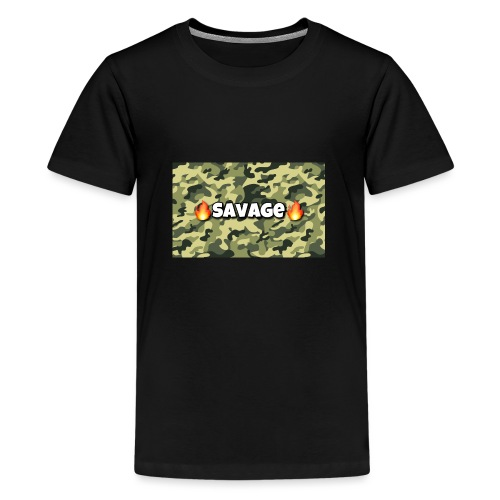 Savage - Teenager Premium T-Shirt