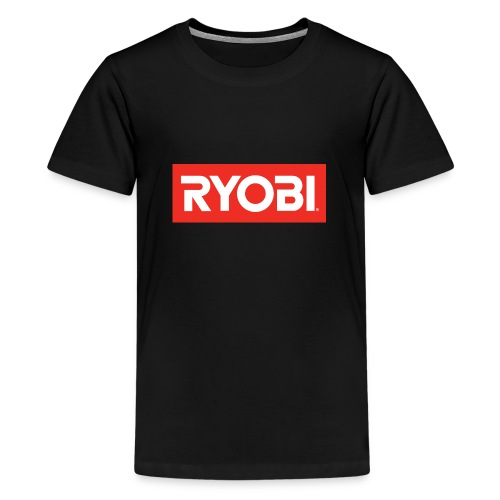 Red Ryobi - Teenage Premium T-Shirt