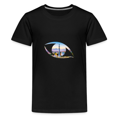 The eye of Barcelona - Teenager Premium T-shirt