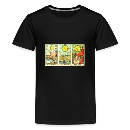 STAR MOON SUN - Camiseta premium adolescente