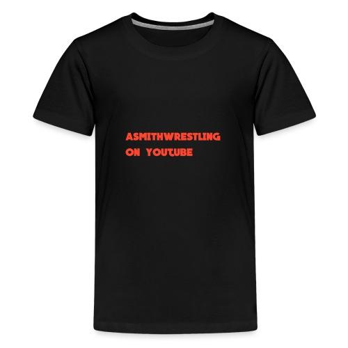 youtube watermark png - Teenage Premium T-Shirt