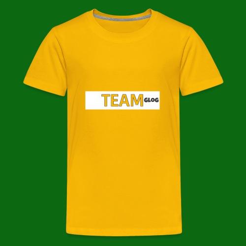Team Glog - Teenage Premium T-Shirt
