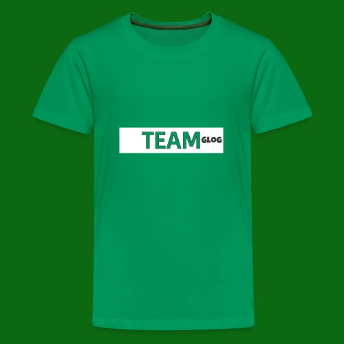 Team Glog - Teenage Premium T-Shirt