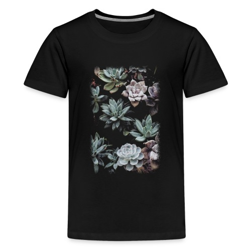 A Succulent Dream - Teenager Premium T-Shirt