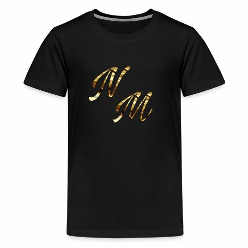 Gold NAAMedia Logo - Teenage Premium T-Shirt