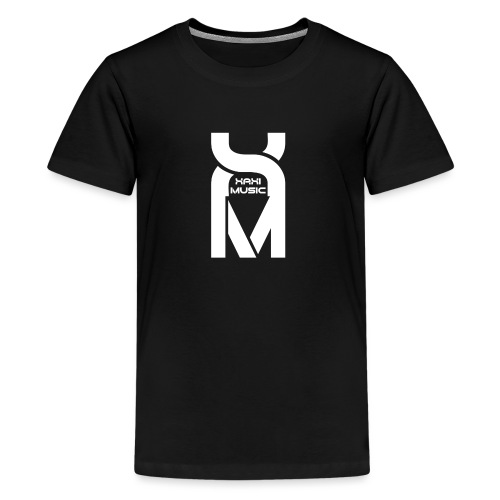 Xaxi Music Logo - Teenage Premium T-Shirt