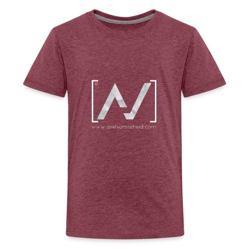 logoalpha blanc - T-shirt Premium Ado