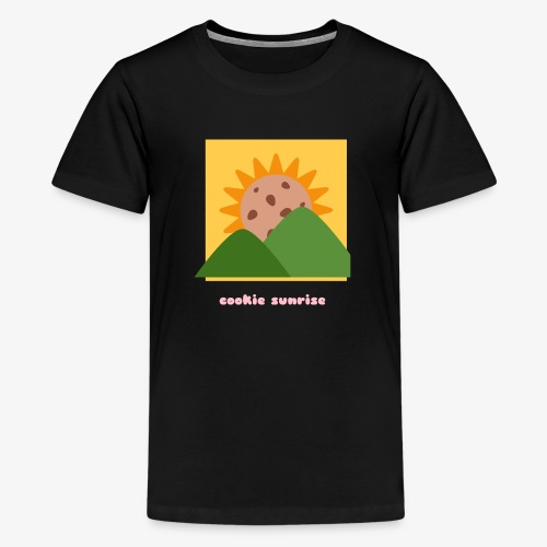 Cookie Sunrise - Teenage Premium T-Shirt