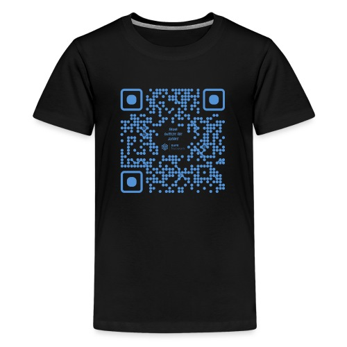 QR The New Internet Shouldn t Be Blockchain Based - Teenage Premium T-Shirt