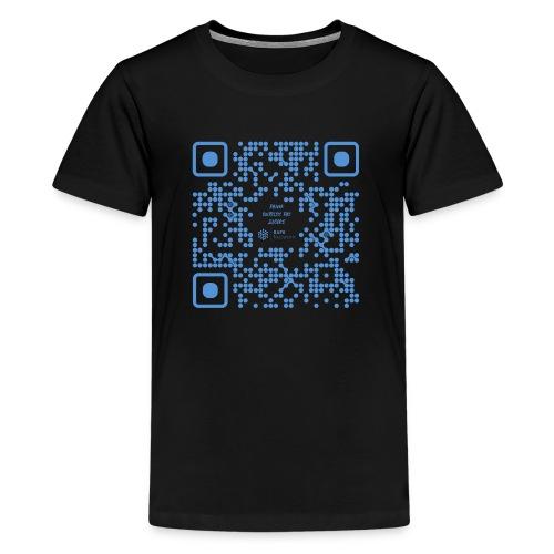 QR The New Internet Shouldn t Be Blockchain Based - Teenage Premium T-Shirt