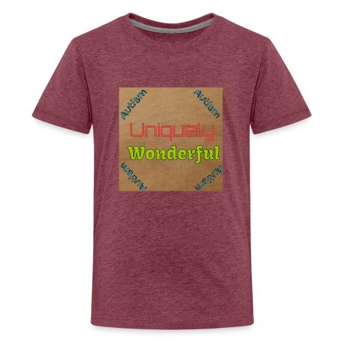 Autism statement - Teenage Premium T-Shirt