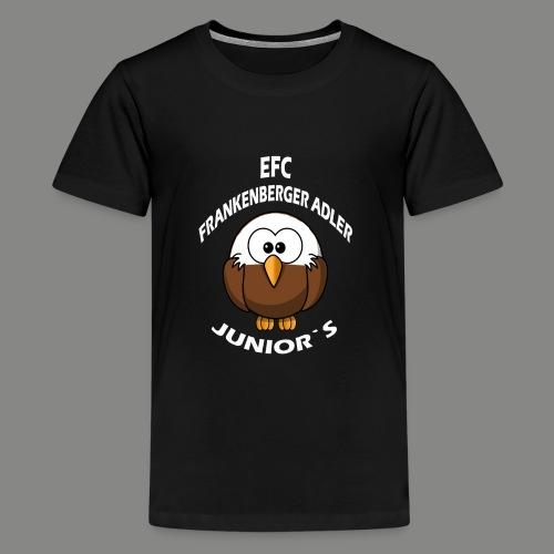 Junior`s Weiß - Teenager Premium T-Shirt