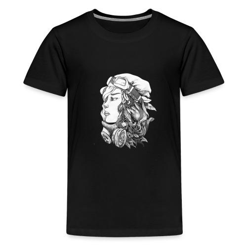 Beauty BW - Camiseta premium adolescente