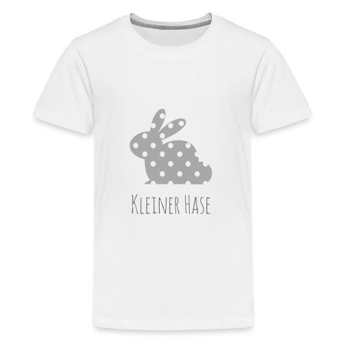 Hase grau - Teenager Premium T-Shirt