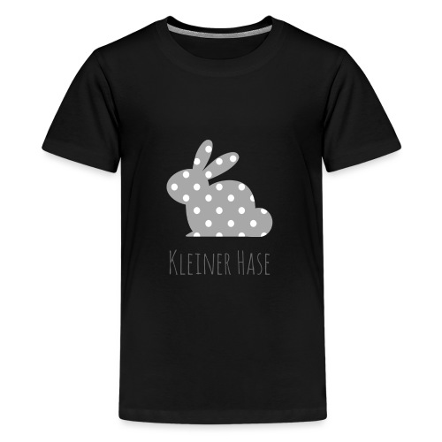 Hase grau - Teenager Premium T-Shirt