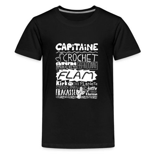 capitaine-blanc Tee shirts - T-shirt Premium Ado