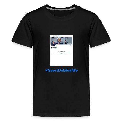 #GeertDeblokMe - Teenager Premium T-shirt