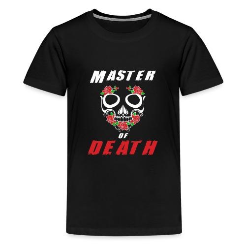 Master of death - white - Koszulka młodzieżowa Premium