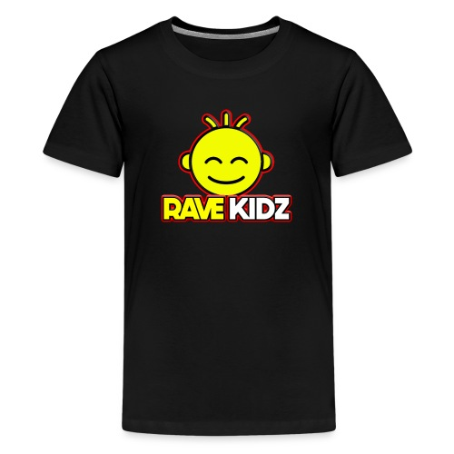 rave kidz - Teenage Premium T-Shirt