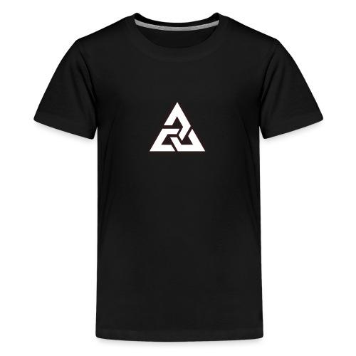 Großes Logo [JxsyFX] - Teenager Premium T-Shirt